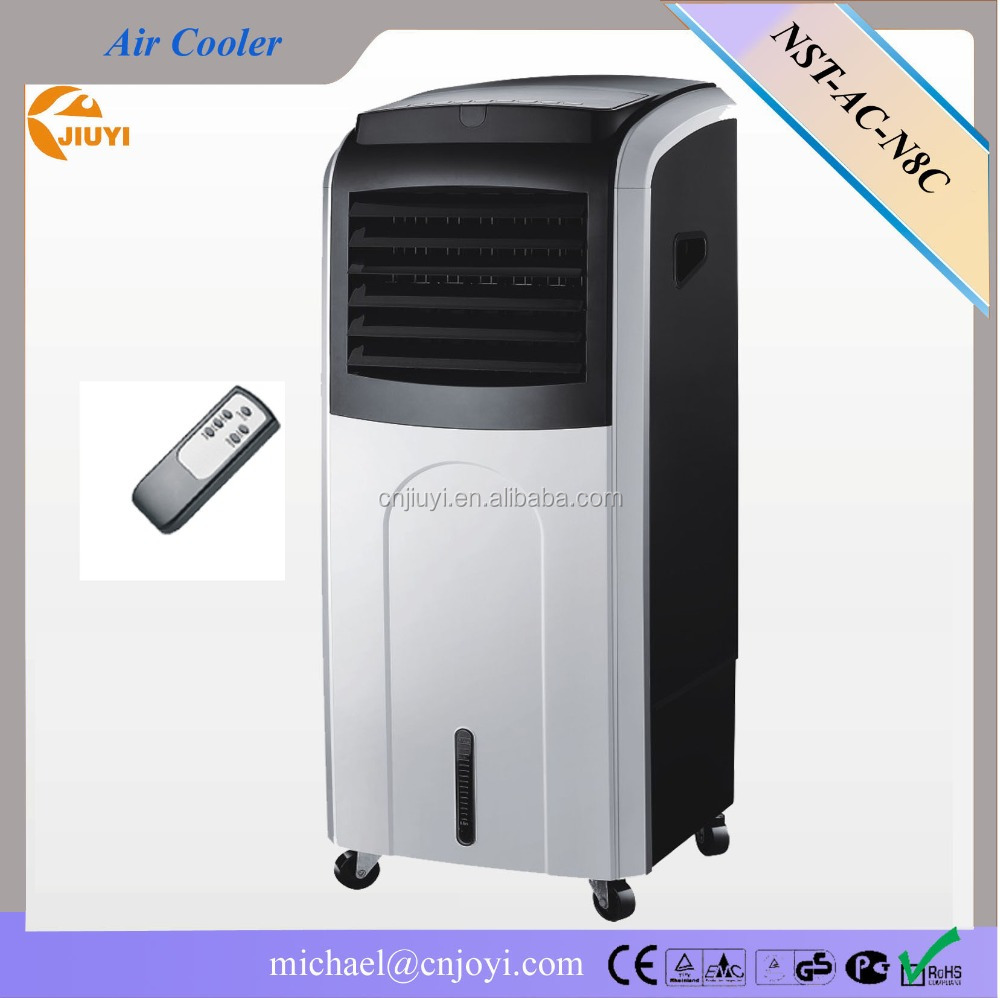 LED Remote Control Air cooler/Power of cooling(160W)+heating(2000W)/12hours timer /water tank 16L