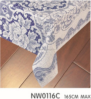 Simple beautiful oriental tablecloth