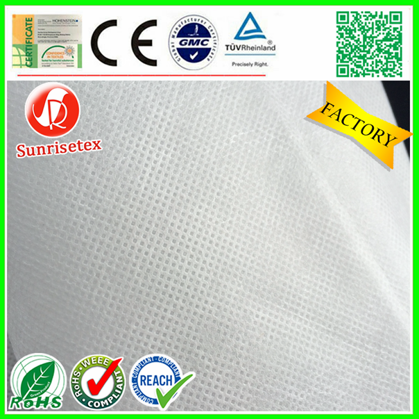 Eco-Friendly Biodegradable corn fiber PLA non-woven fabric factory