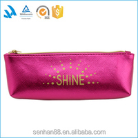 Short sample time high quality colorful custom pvc pencil bag with zip
