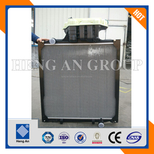 Aluminum copper MAN truck radiator TGA TGX TGS series