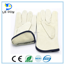 Soft Sheep Leather Driving industrial use working safety gloves/driving gloves manufacture