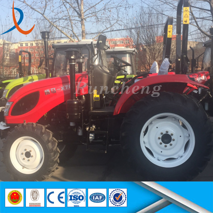 China popular 130hp tractor with cab / 4x4 farm equipment tractor / tractor machine