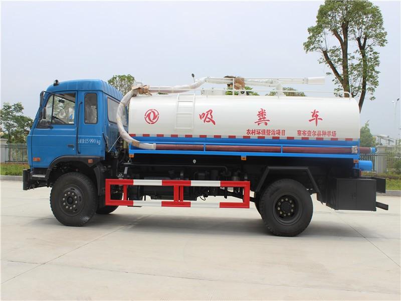 DF Dung vacuum truck 9m3 -09-Cesspit Emptier-Septic Tank.jpg