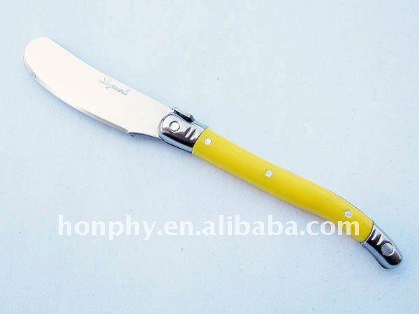 Laguiole cuchillo de mantequilla juegos de cubiertos for Cuchillo para untar mantequilla