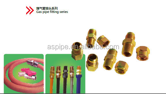 brass hydraulic fitting / pipe fitting brass compression fittings.