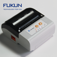 58MM Outdoor Portable Cutter 2 inch mini rs232 thermal receipt printer with Rechargeable Battery FK-PC201-D
