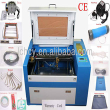 leather/wood/plastic label engraving machine