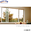 triple tracks PVC sliding window/triple sliding tracks plastic windows