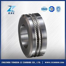 Hot sell tungsten carbide cole roller used in smooth reinforcing steel for concrete with great price