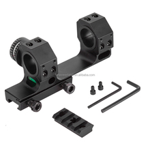 High Accuracy 24.5/30mm Universal One-piece Offset Scope Mount Dual Ring with Angel and Level Instrument for Picatinny