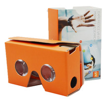 3D google branded cardboard vr new cool glasses with private logo printing type virtual reality