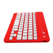 Engligh/Russian Slim Mini bluetooth keyboard for ipad 2
