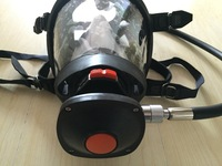 High Quality French Style Germany Style Spherical Full Face Mask With Demand Valve Used For SCBA