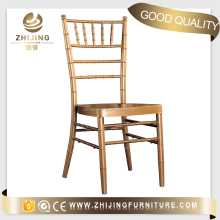 Manufacture high quality wedding aluminum chiavari chair with cushion