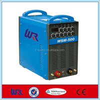 500amp IGBT inverter ac dc pulse tig welding machine /argon arc welding machine/AC DC welding machine WSM-500