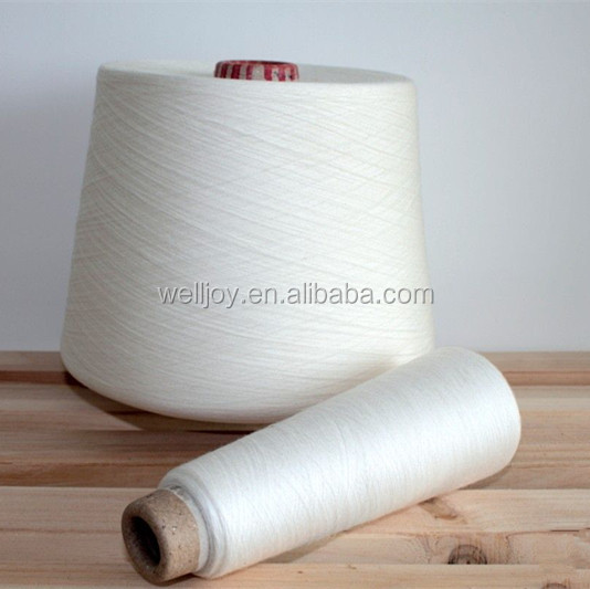 Well joy polyester thread 50/3 raw white bright