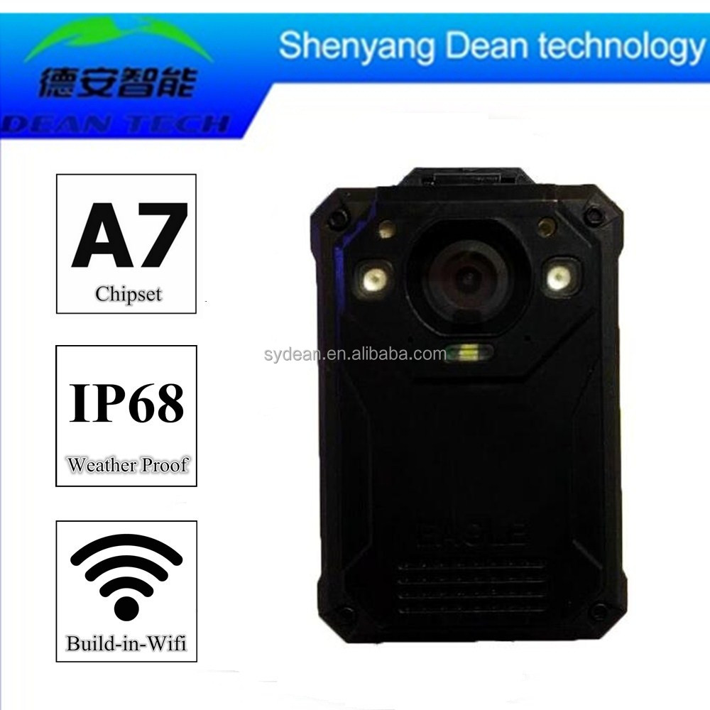 Wireless Digital Police Body Worn Video Camera and Recorder