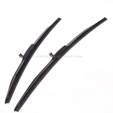 China wholesalers frameless soft car windshield wipers blades