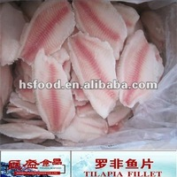 Frozen Tilapia Fillet Seafood 3oz To