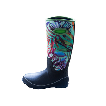 Women's  Waterproof Hunting Rubber Neoprene  Rain Boots