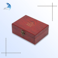Drak small unfinished wooden boxes wholesale for crafts