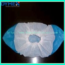 Blue/White Disposable Waterproof Plastic PP+ CPE Medical Shoe Cover For Work Place