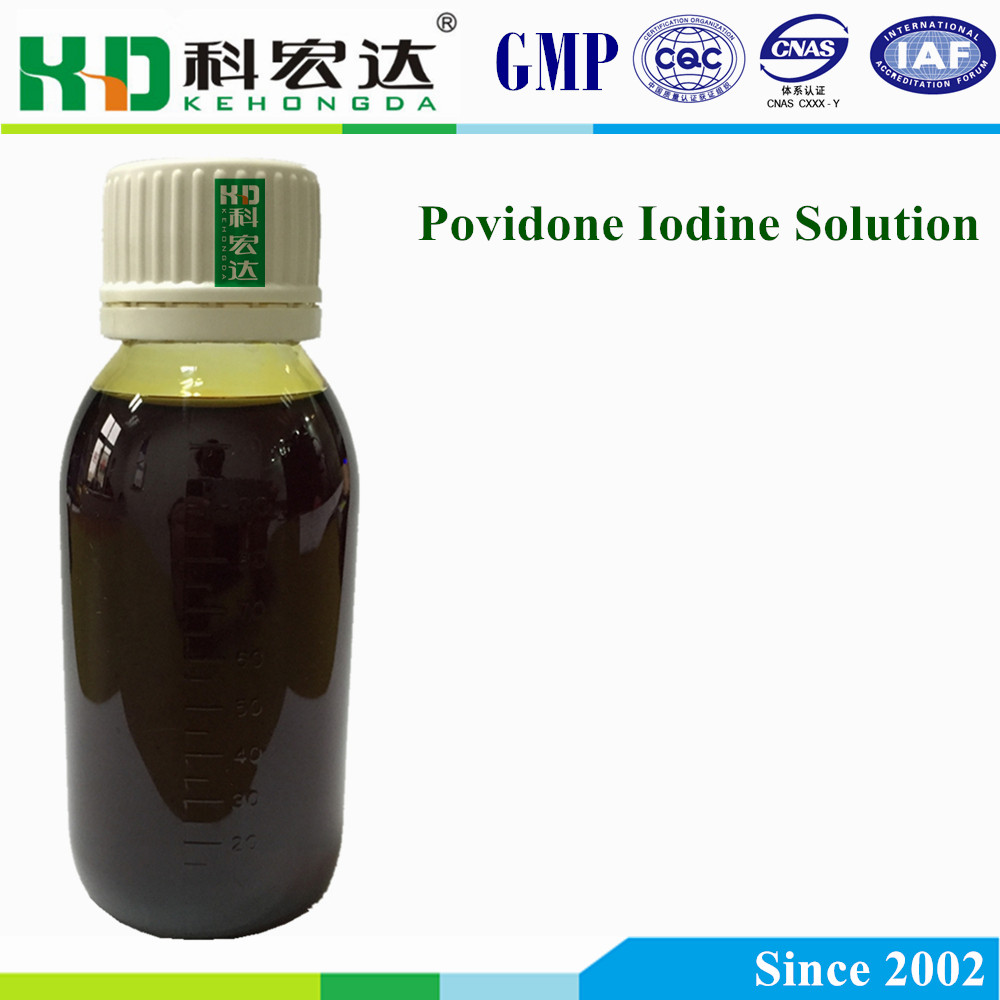 Povidone Iodine Solution for Antiseptic Liquid Disinfectant