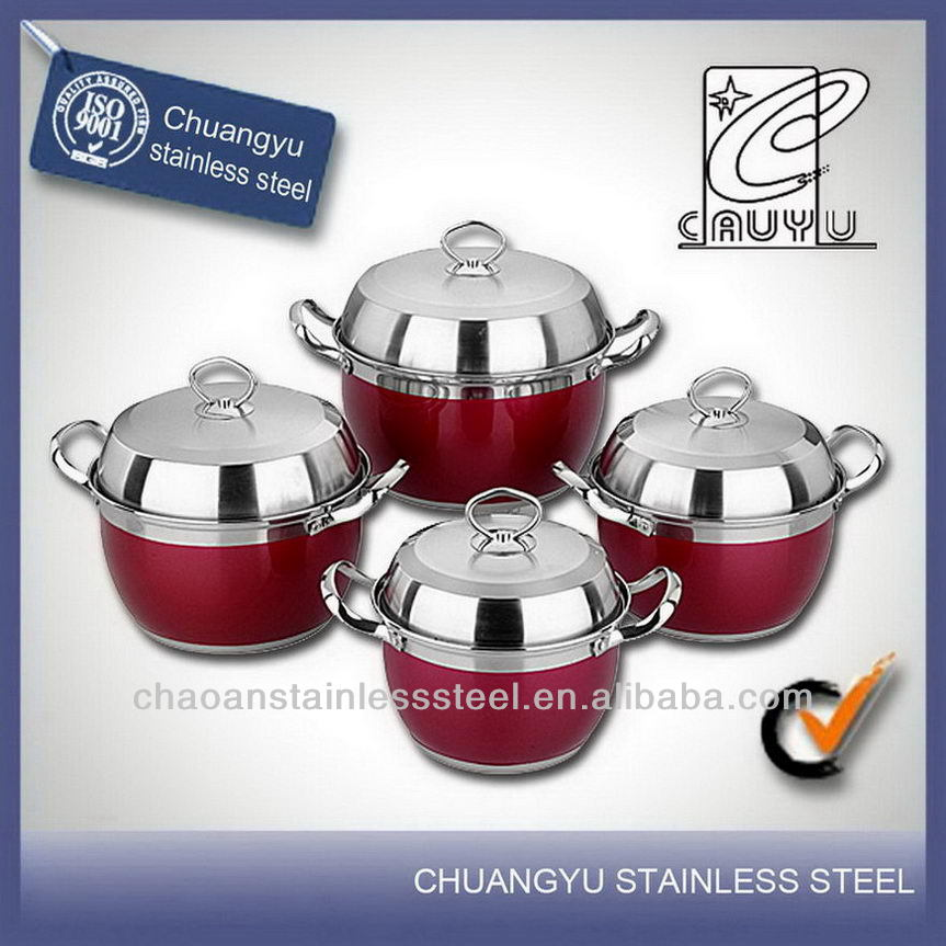 stainless steel hot new products for 2014 commercial induction kitchenware