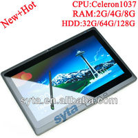 pc dual core IPS 1366*768 2G/32GB Bluetooth WIFI HDMI 3G windows tablet i3
