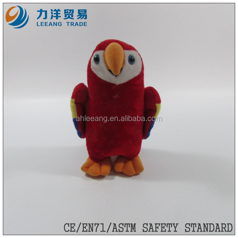 plush birds/flying animals/parrot, Customised toys,CE/ASTM safety stardard