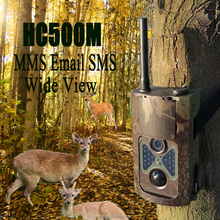 2015 Cheap HC500M SMS MMS GPRS Trail Scouting Cameras with 12MP high quality photos