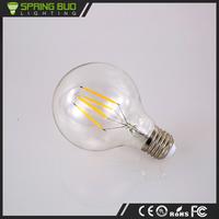 2016 new products G80 G95 G125 optional 4W 220V Aluminum Housing globe glass Led light Bulb