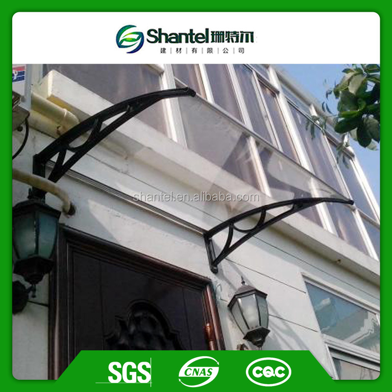 Outdoor Polycarbonate Window Awning Canopy Front Door Canopy Window Shades