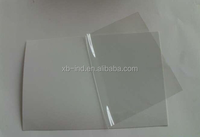 High quality rigid plastic transparent pvc/High Density PVC Rigid Sheet/1.3m wide