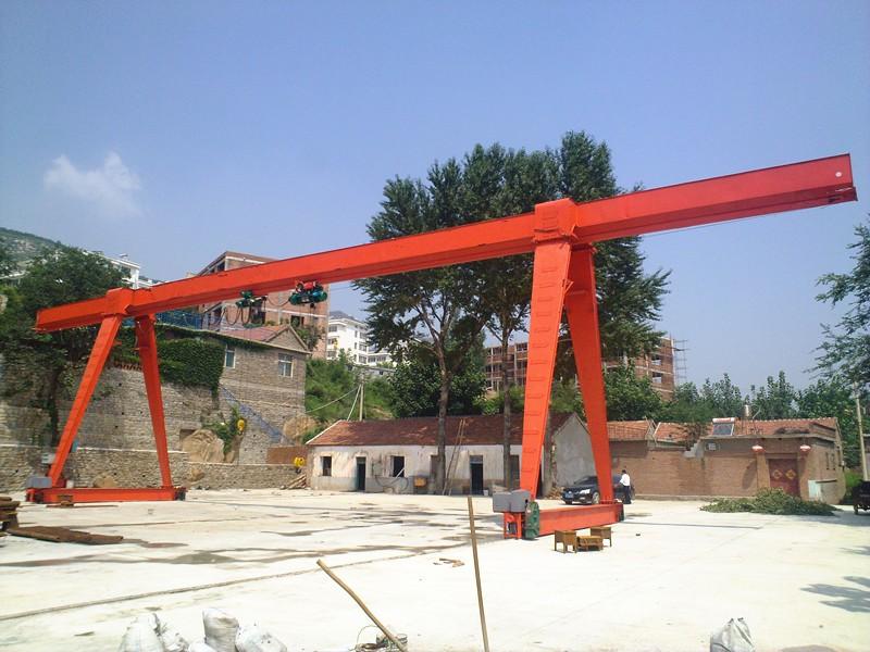 Tavol Brand MH Single girder gantry crane 17ton , 17ton gantry crane