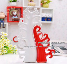 Jingdezhen modern ceramic family tree sculpture decoration for sale