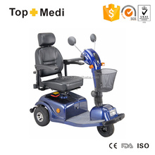 TEM33 Topmedi Wholesale 3 Wheel Electric Mobility Scooter Motor Power Wheelchair