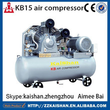 2015 low price portable piston 3.0MPA/30bar air compressor high pressure 30bar air compressor KB15 two cylinders
