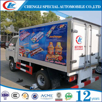 FOTON 1.5T Mini Refrigerator Cooling Van Truck For Sale
