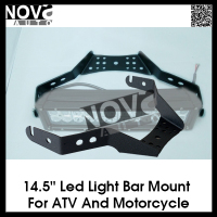 "304 Stainless Steel 14.5"" Led Light Bar Mounting Bracket for ATV and Motorcycle"