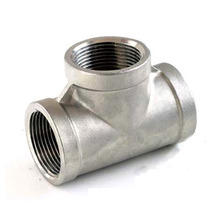 stainless steel T type pipe fitting 304 316