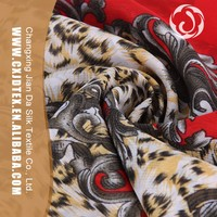 Trade assured latest design african print chiffon fabric