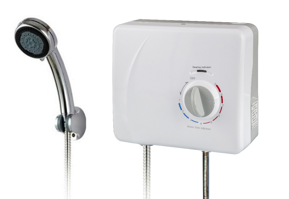 8.5kw High quality IPX4 shower bath electric instant water heater