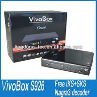 vivobox s926 ,vivo box nuco with good server iks sks digital satellite receiver no dish