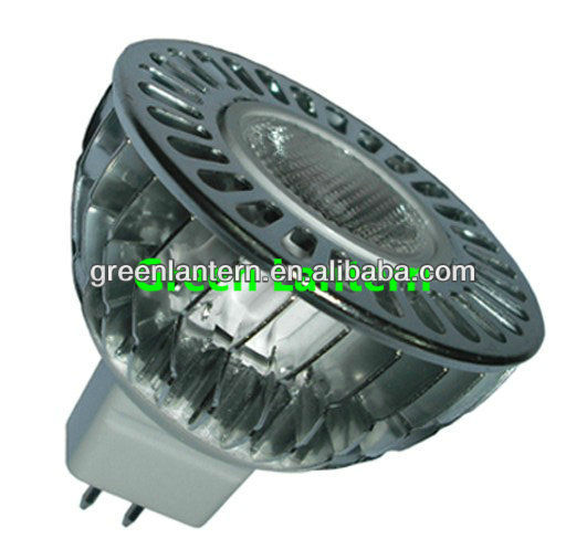 New Design fin type MR 16 LED spot light 12v