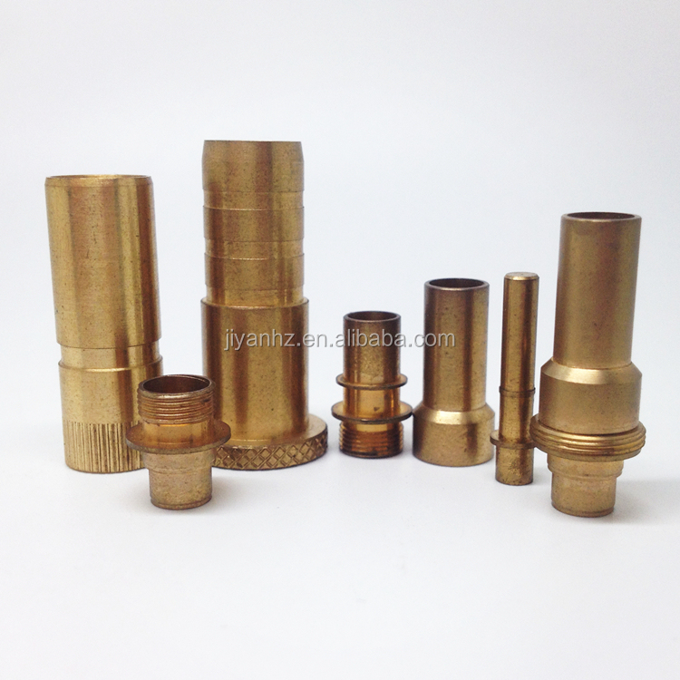 Different kinds of precision cnc machining brass hardware