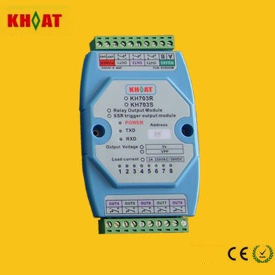 KH703R: 8 Channels MODBUS Relay Module