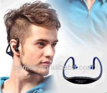 2016 waterproof Sport Wireless Headset Headphone MP3 Player with Micro TF SD Slot FM Radio for swimmer
