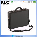 Executive Aluminium Business Laptop Flight Case Briefcase Storage Box Bag Black